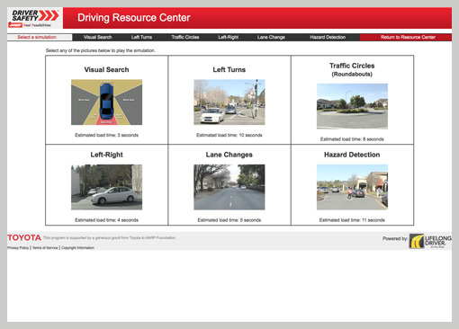 Driving Resource Center
